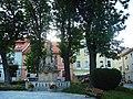 DUSZNIKI-ZDRÓJ. Pomnik Matki Boskiej z dzieciątkiem - panoramio.jpg