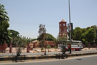 Silvassa City in Dadra and Nagar Haveli and Daman and Diu, India