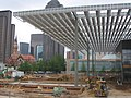Dallas Winspear Opera House construction canopy.jpg