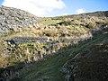 Dam in Disused Quarry - geograph.org.uk - 357500.jpg