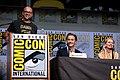 Damon Lindelof, Kyle MacLachlan & Naomi Watts (35331996324).jpg