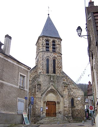 Dampierre-en-Yvelines - Image: Dampierre en Yvelines Église 1