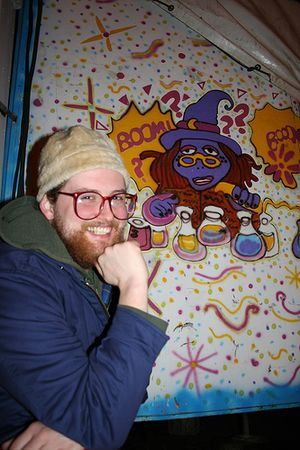 Dan Deacon: U.S.A. - The episode features music by Dan Deacon (pictured) from the album America.