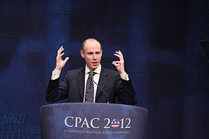 Daniel Hannan - Daniel Hannan at the Conservative Political Action Conference, 2012.