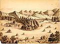 Daniel Jenks, Pretty camp, Rocky Mountains, 1859.jpg