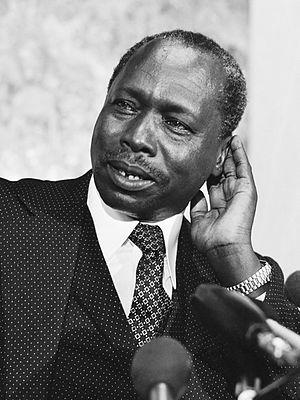 Daniel arap Moi - President Moi in 1979