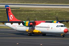 Danish Air Transport ATR-72 OY-RUB @ Düsseldorf International Airport.jpg