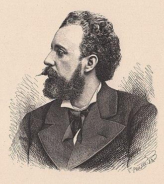 Holger Drachmann - Holger Drachmann, circa 1894