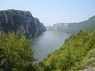 Iron Gates A gorge on the river Danube between Serbia and Romania