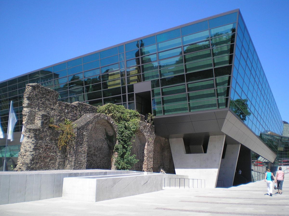 Darmstadtium kongresszentrum wikipedia for Architektur moderne