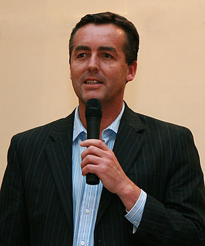 Gippsland by-election, 2008 - National Party candidate and eventual winner, Darren Chester