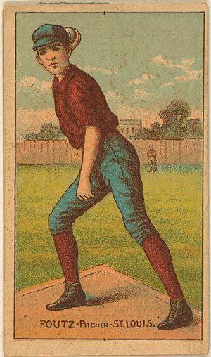 Dave Foutz - Dave Foutz on an 1887 baseball card.