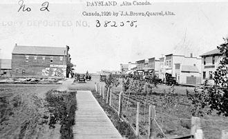Daysland - Image: Daysland, Alberta