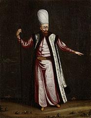 The Capoudgi Bachi, Grand-master of the Seraglio