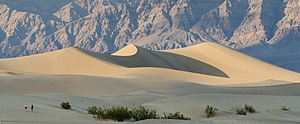 Death Valley - Sand dunes at Mesquite Flats
