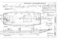 Deck Plan-Outboard Profile - Scow Schooner ALMA, Hyde Street Pier, San Francisco, San Francisco County, CA HAER CAL,38-SANFRA,198- (sheet 3 of 7).png