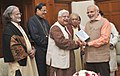 Delegation of Artistes from Sangeet Natak Akademi calls on Prime Minister Narendra Modi.jpg