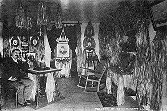 George Lycurgus - Demosthenes Lycurgus in Volcano House, 1908