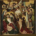 Descendimiento, de Bartolomé Bermejo y Martín Bernat (Museo de Zaragoza).JPG