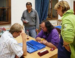 Toguz korgol - Playing toguz korgool