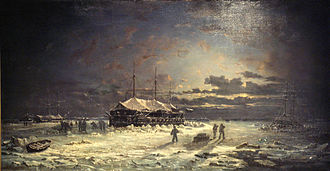 Floating battery - Image: Devastation Class Crimean Winter 1855 1856