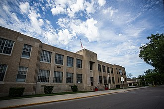 National Register of Historic Places listings in Ramsey County, North Dakota - Image: Devils Lake Central High School