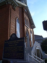 The Dexter Avenue Baptist Church
