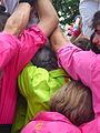 Diada castellera festes de primavera 2014 a Sant Feliu de Llobregat P1480301.jpg