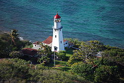 Diamond Head Lighthouse, Honolulu, USA-4Aug2009.jpg