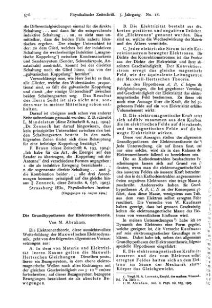File:Die Grundhypothesen der Elektronentheorie.djvu