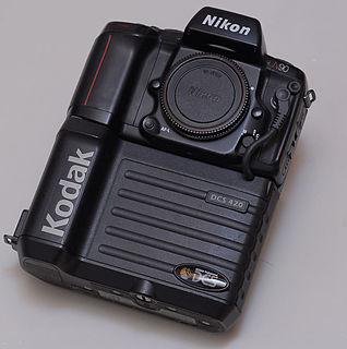 Kodak DCS digital camera model