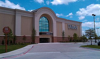 Dillard's - Dillard's in Fairview, Texas opened on March 10, 2010.