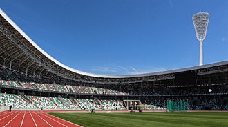 Belarus national football team - Dinamo Stadium in Minsk is the venue for most Belarus international matches