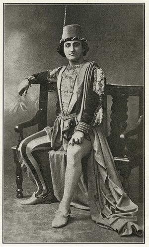 Dinh Gilly - Dinh Gilly as Mercutio in Gounod's Roméo et Juliette.