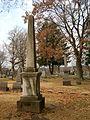 Dinsmore-Miller Obelisk, Chartiers Cemetery, 02.jpg