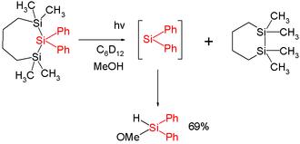 Silylene - Diphenylsilylene