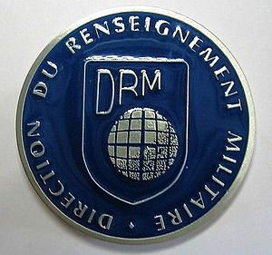 Direction du renseignement militaire - Insigna of DRM