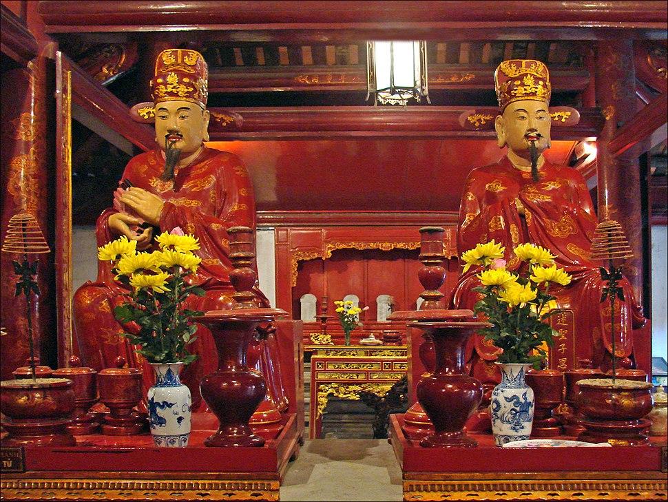 Disciples de Confucius (Temple de la littérature, Hanoi) (4356115370)