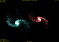 Disk galaxies collision.png