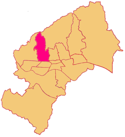 Location of Črnomerec