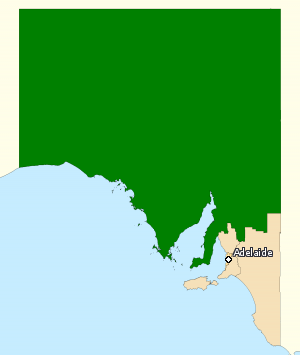 Division of Grey - Division of Grey in South Australia, as of the 2016 federal election.