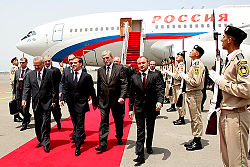 Dmitry Medvedev in Azerbaijan 3 July 2008-1.jpg