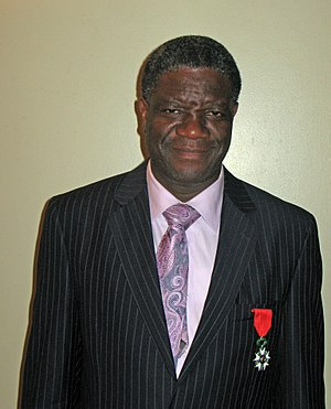 Denis Mukwege - Denis Mukwege with the Légion d'Honneur