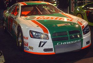 Castrol - A Castrol sponsored NASCAR Canadian Tire Series (formerly CASCAR) Dodge Charger
