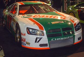 Castrol - A Castrol sponsored NASCAR Pinty's Series (formerly CASCAR) Dodge Charger