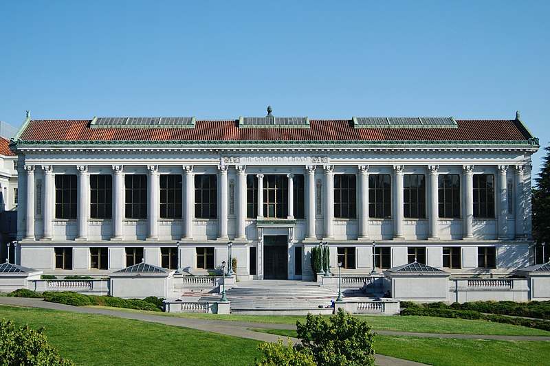 File:Doe Library, main facade, July 2018.jpg