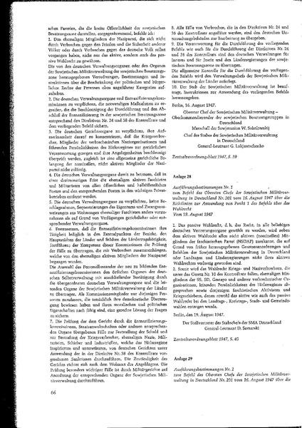 File:Dokument 29, Ausführungsbestimmungen Nr. 1 der Sowjetischen Militärverwaltung in Deutschland vom 16. August 1947.pdf