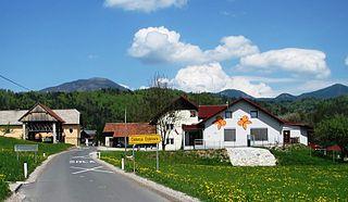 Dolenja Dobrava, Gorenja Vas–Poljane Place in Upper Carniola, Slovenia