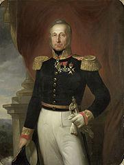 Portrait of Dominique Jacques de Eerens, Governor-General of the Dutch East Indies
