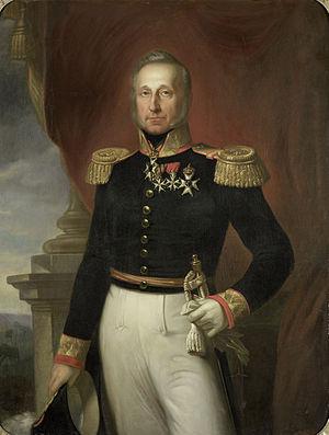 Dominique Jacques de Eerens - Image: Dominique Jacques de Eerens (1781 1840). Gouverneur generaal (1835 40) Rijksmuseum SK A 3800